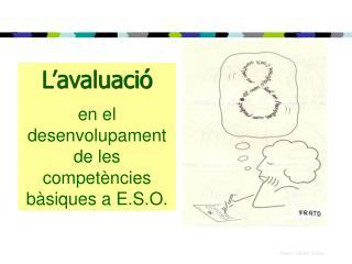 L'avaluació en el desenvolupament de les competències bàsiques a E.S.O.