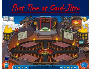 First Time at Card-Jitsu