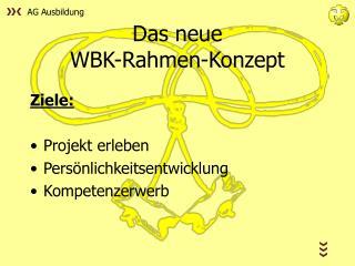 Das neue WBK-Rahmen-Konzept