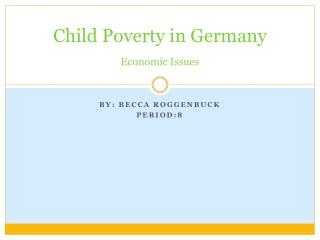 Child Poverty in Germany