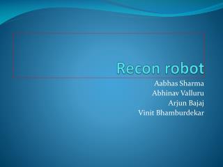 Recon robot