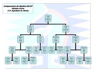 Campeonato de Ajedrez 06-07 Quinto curso C.P. Apolinar G. Hevia