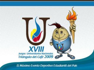XVIII JUEGOS UNIVERSITARIOS NACIONALES