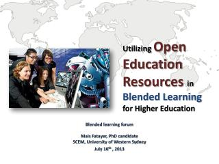 Utilizing  Open Education  Resources  in  Blended Learning  for Higher Education