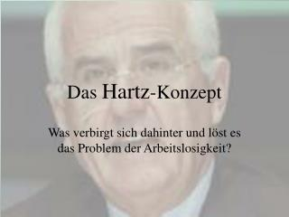 Das  Hartz -Konzept