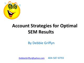 Account Strategies for Optimal            SEM Results