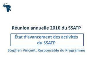 Second Plan de D�veloppement du SSATP  (DP2)