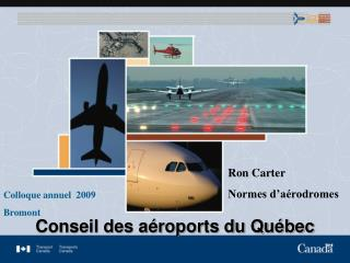 Canadian Aviation Regulations Part III Regulatory update SWIFT, September 10 – 14, 2006