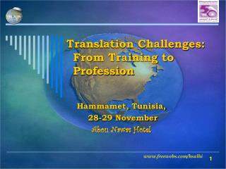 Translation Challenges:  From Training to Profession