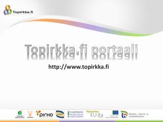 Topirkka.fi portaali