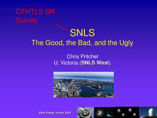 SNLS   The Good, the Bad, and the Ugly