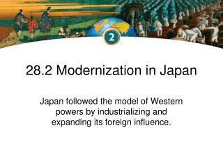 28.2 Modernization in Japan