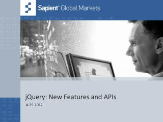 jQuery: New Features and APIs