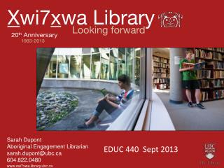xwi7xwa.library,ubc
