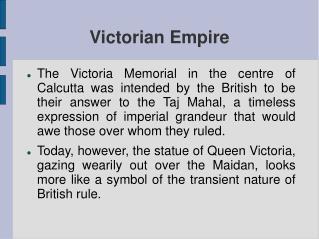 Victorian Empire