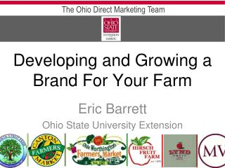 Eric Barrett  Ohio State University Extension