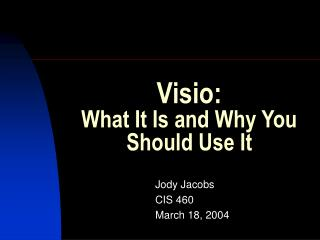 Visio: What It Is and Why You Should Use It