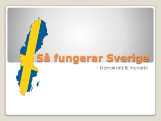 Så fungerar Sverige