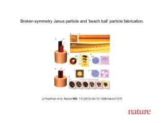 JJ Kaufman  et al. Nature 000 ,  1-5  (2012) doi:10.1038/nature11215