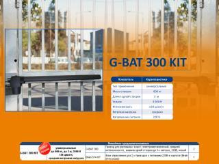 G-BAT 300 KIT