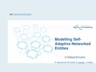 Modelling Self-Adaptive Networked Entities