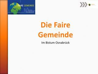 Die Faire Gemeinde Im Bistum Osnabrück
