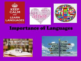 Importance of Languages