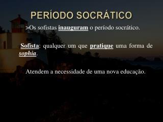 PER ODO SOCR TICO
