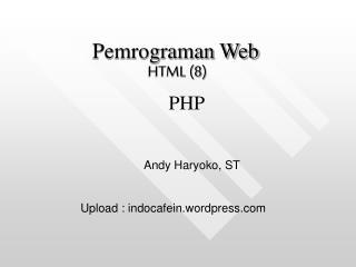 HTML (8)