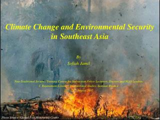 Climate Change and Environmental Security in Southeast Asia