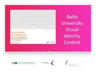 Aalto University Visual  Identity Contest