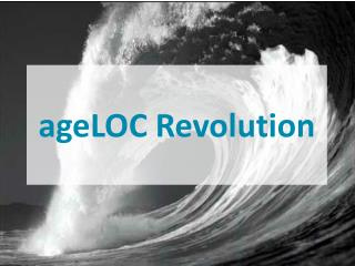 ageLOC Revolution