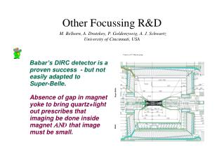 Babar's DIRC detector is a proven success  - but not easily adapted to  Super-Belle.