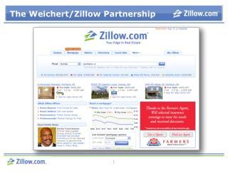 The Weichert/Zillow Partnership
