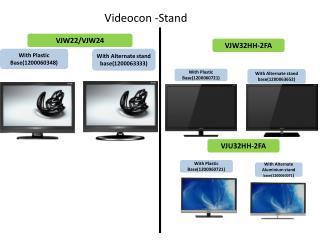 Videocon -Stand
