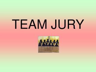 TEAM JURY