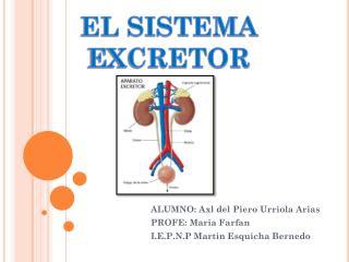 ALUMNO:  Axl  del Piero  Urriola  Arias PROFE:  Maria Farfan I.E.P.N.P Martin  Esquicha Bernedo