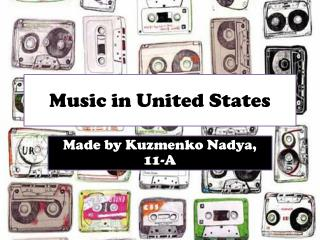 Music in United States