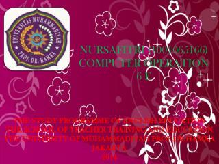 NURSAFITRI (1001065166) COMPUTER OPERATION  6 E