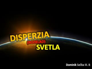 DISPERZIA