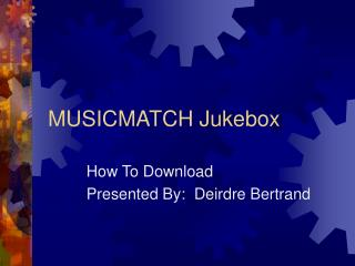 How to Download MusicMatch Jukebox
