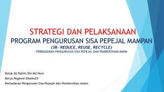 Datuk Ab Rahim  Bin  Md Noor Ketua Pegawai Eksekutif
