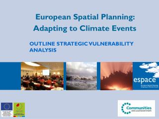 European Spatial Planning:  Adapting to Climate Events