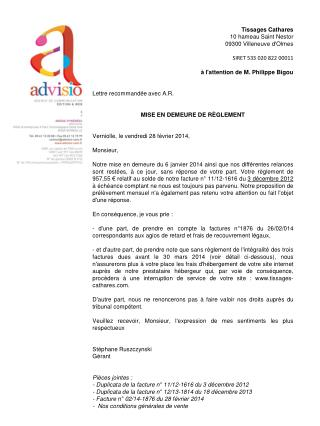 Tissages Cathares 10 hameau Saint Nestor 09300 Villeneuve d'Olmes SIRET  533 020 822 00011