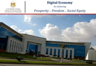 Digital Economy  For Achieving Prosperity .. Freedom .. Social Equity