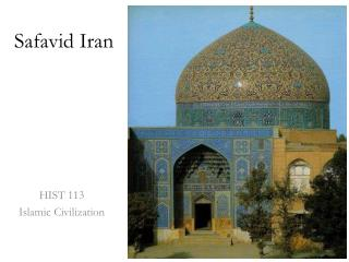 Safavid  Iran