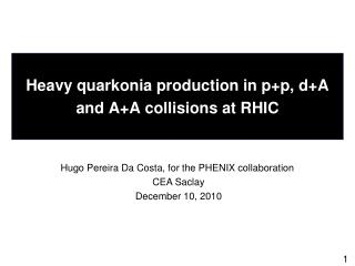 Heavy  quarkonia  production in  p+p ,  d+A  and A+A collisions at RHIC