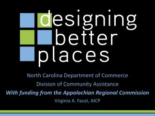 North Carolina Department of Commerce Division of Community Assistance