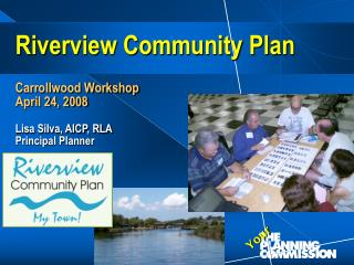 Riverview Community Plan