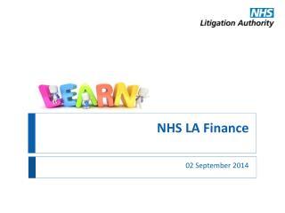 NHS LA Finance